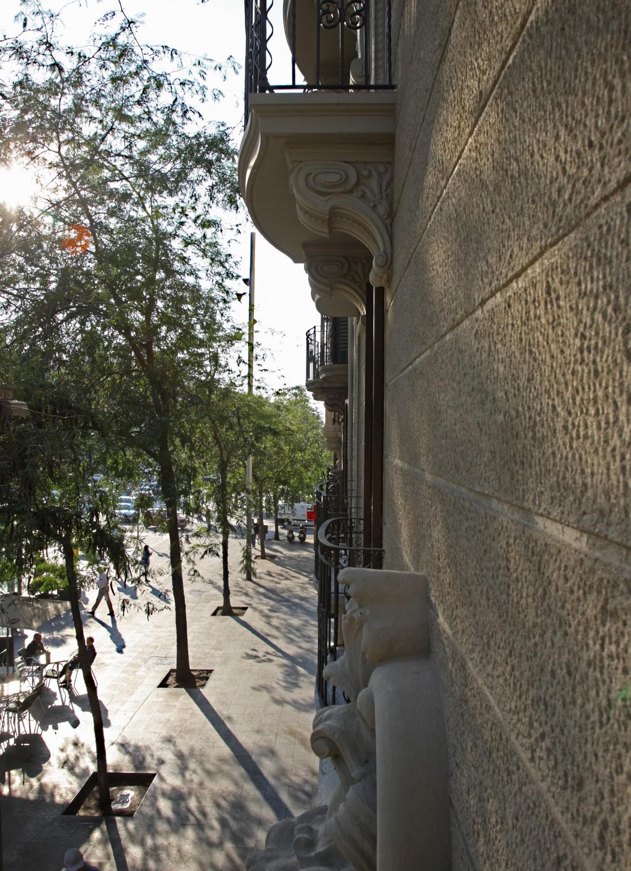 Rehabilitaci n fachada edificio viviendas x arquitectura - Calle marina barcelona ...